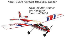 Hangar 9 Alpha 40 Trainer